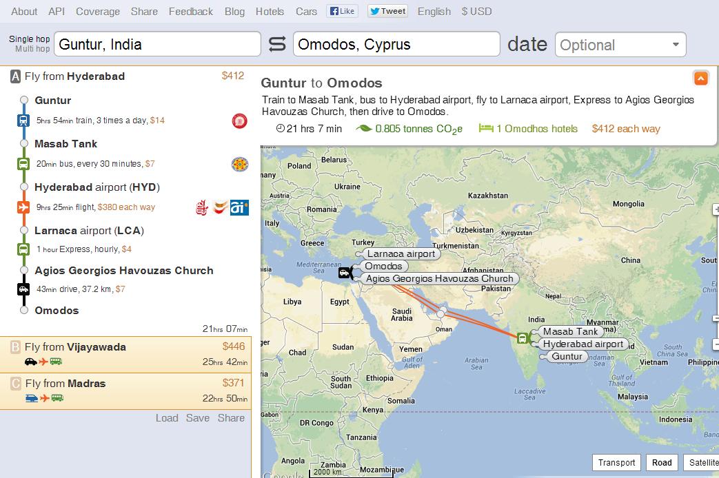 Guntur to Omodos by train plane Express taxi Rome2rio