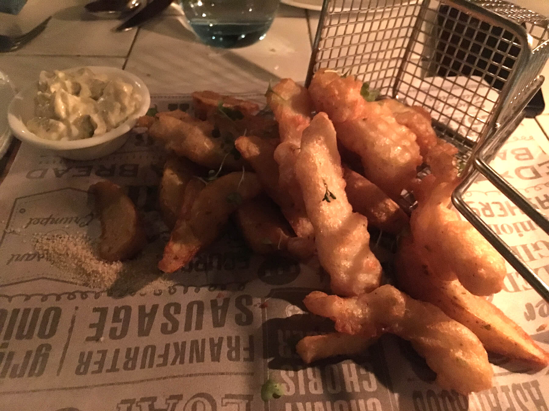 Battered Fish and Chips at the Olive Bistro, Jubilee Hills, Hyderabad – Review