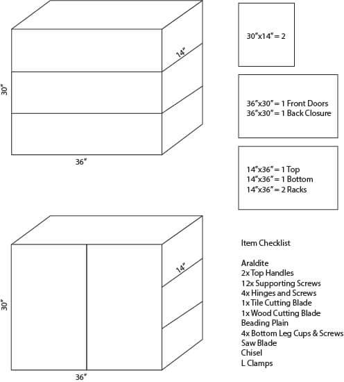 shoe-rack-model